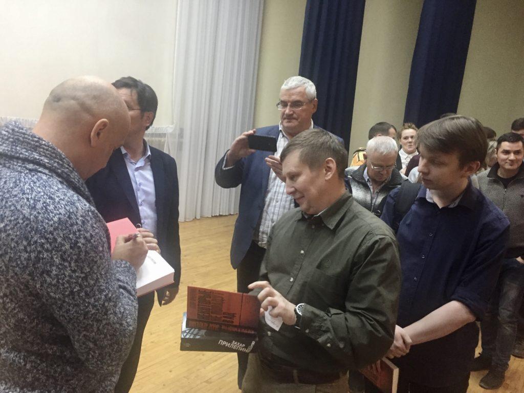 Захар Прилепин встретился со сторонниками в Ижевске 3