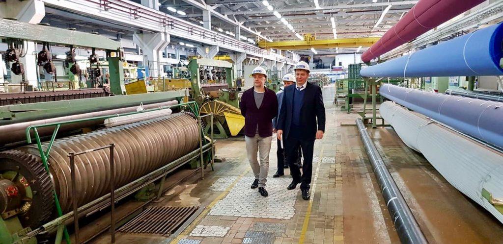 Захару Прилепину представили новый подход к повышению производительности труда 1