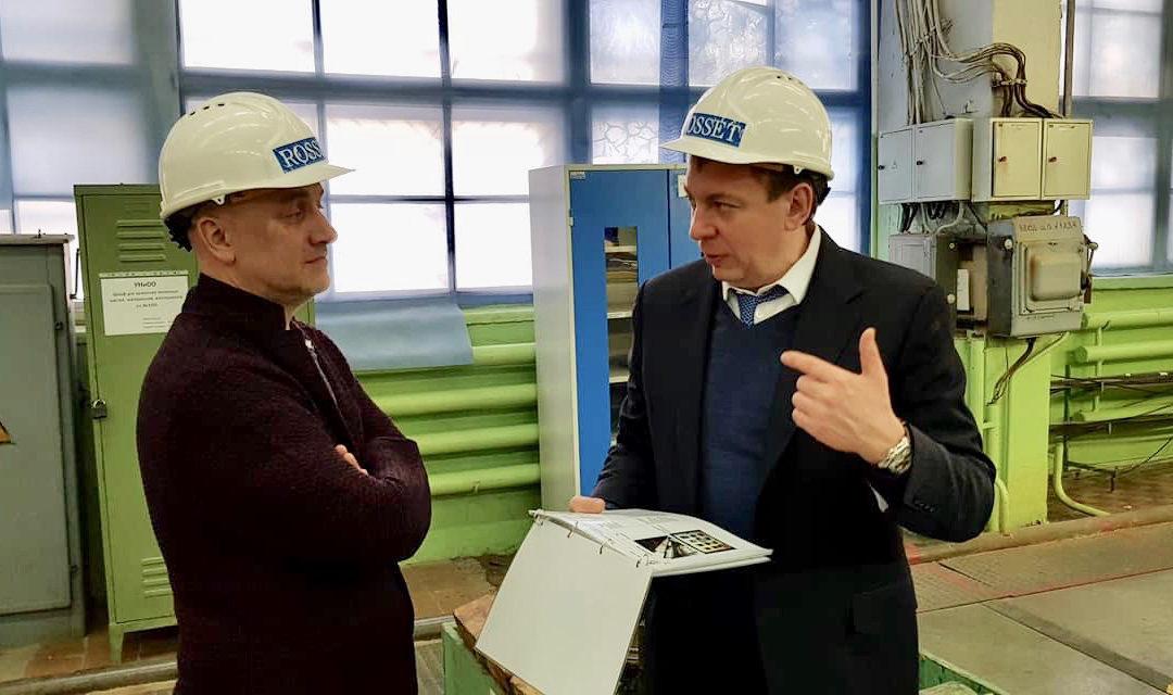 Захару Прилепину представили новый подход к повышению производительности труда