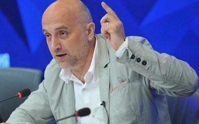 Захар Прилепин назвал русский язык международным оружием России
