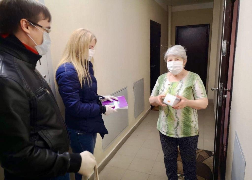 Добровольцы ЗА ПРАВДУ противостоят эпидемии и помогают людям 5