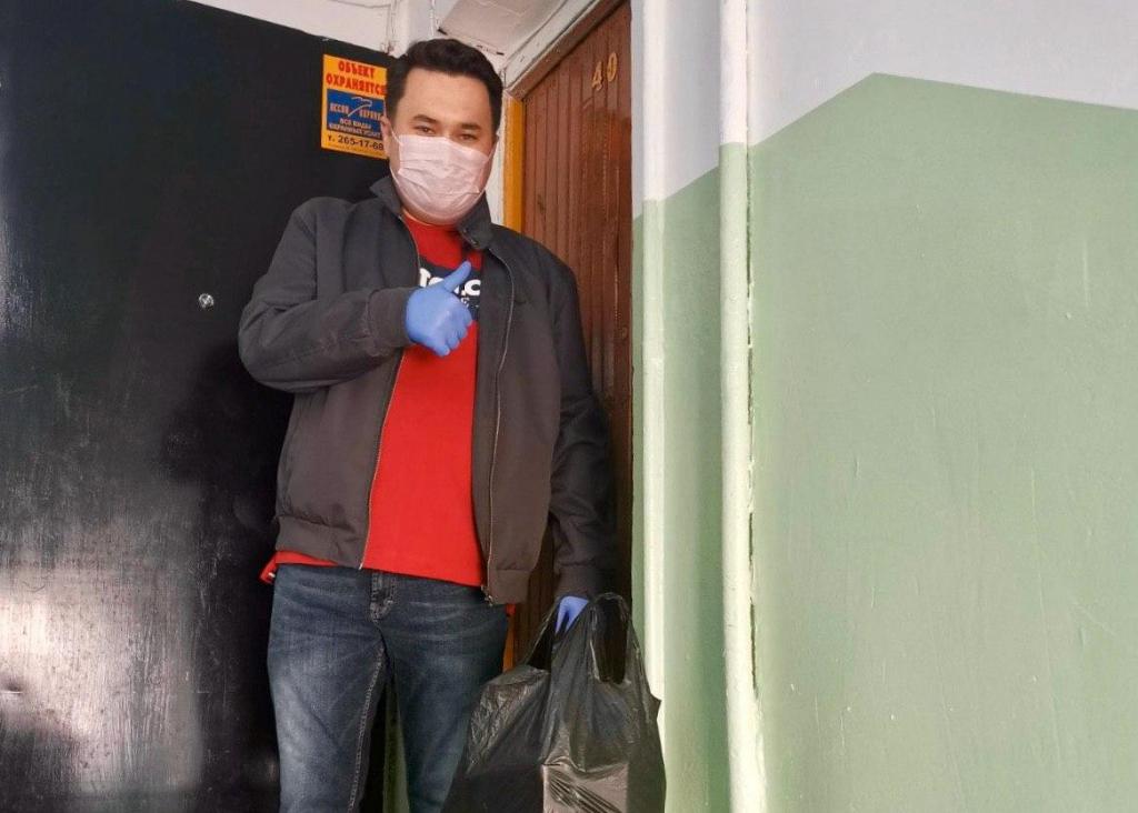 Добровольцы ЗА ПРАВДУ противостоят эпидемии и помогают людям 4