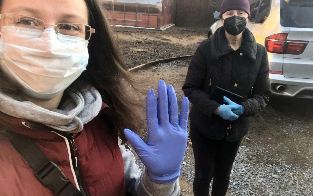 Добровольцы ЗА ПРАВДУ противостоят эпидемии и помогают людям