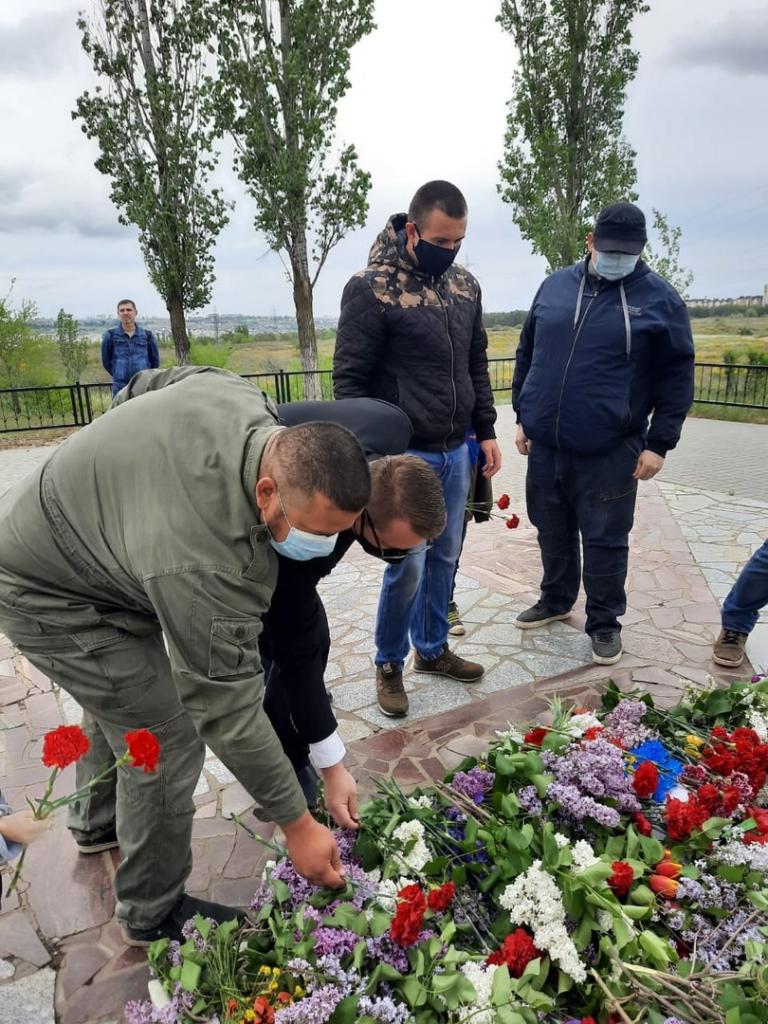 Сторонники Движения ЗА ПРАВДУ поздравляют с 75-летием Победы. Продолжение 2