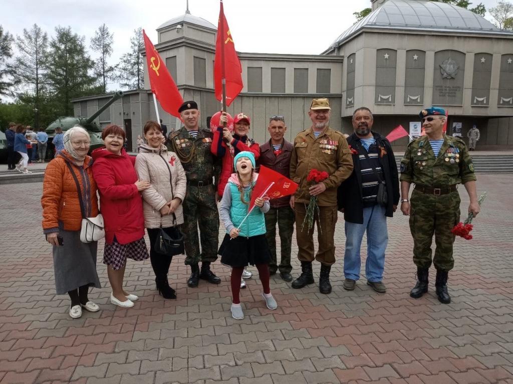 Сторонники ЗА ПРАВДУ в регионах поздравляют с Днём Победы 2