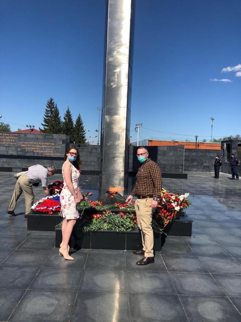 Сторонники Движения ЗА ПРАВДУ поздравляют с 75-летием Победы. Продолжение 12
