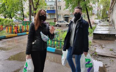 Добровольцы Движения ЗА ПРАВДУ помогают ульяновцам