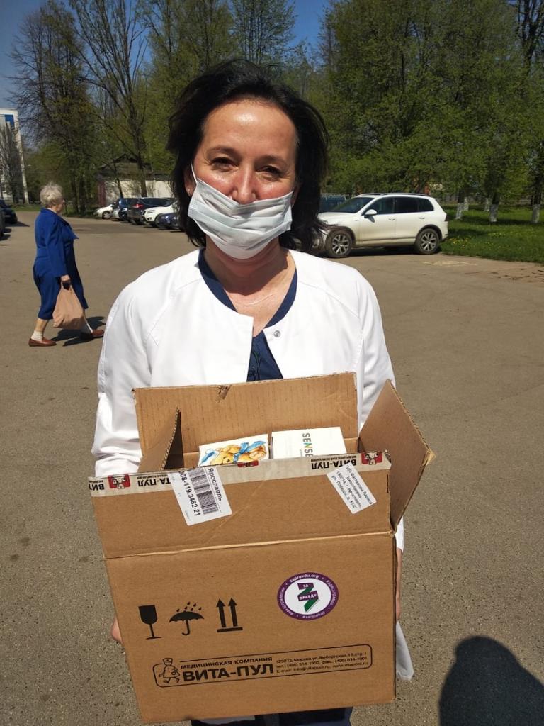 Активисты в Ярославле безвозмездно передали 400 масок онкологической больнице 1
