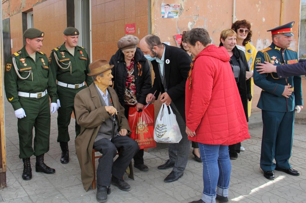 Сторонники Движения ЗА ПРАВДУ поздравляют с 75-летием Победы. Продолжение 16