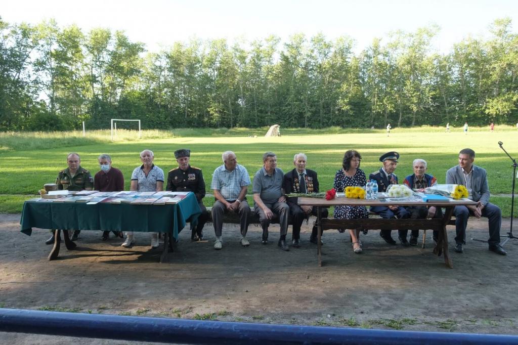 Активисты в Рязани провели памятное мероприятие в День памяти и скорби 2