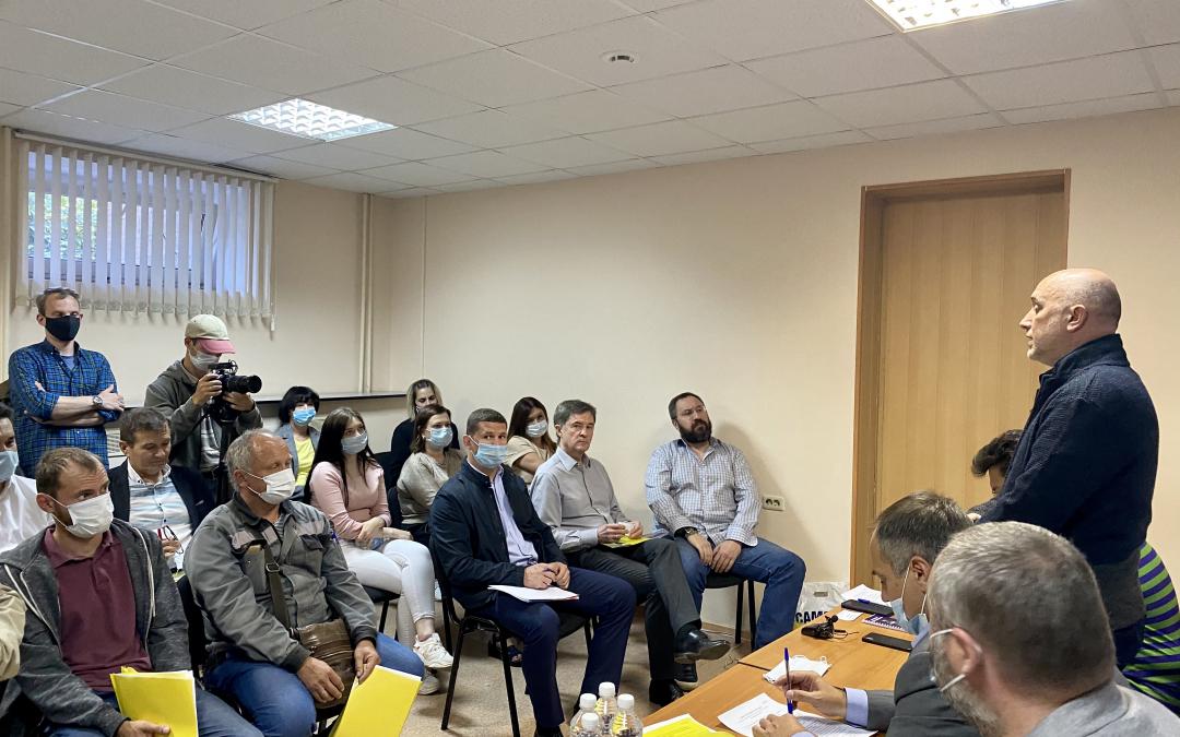Партия ЗА ПРАВДУ открыла предвыборный штаб в Челябинске
