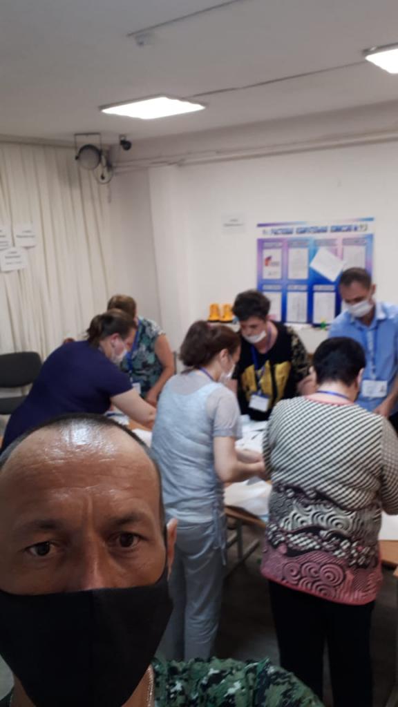 Активисты партии и Движения ЗА ПРАВДУ стали наблюдателями на общероссийском голосовании по поправкам. Продолжение 1
