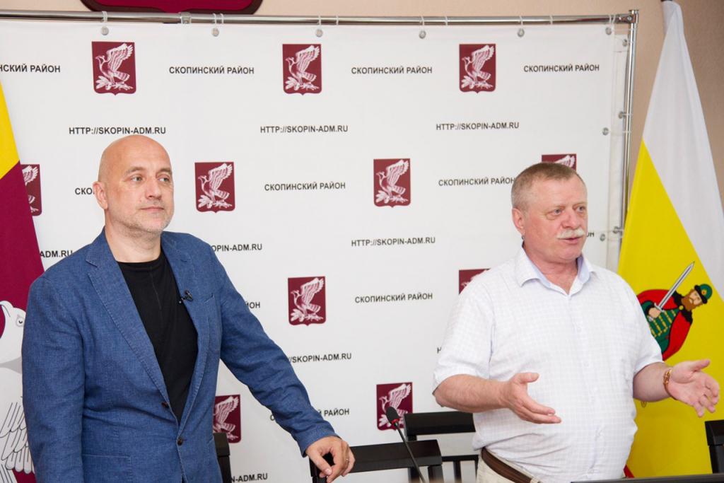 Итоги второго дня визита Захара Прилепина в Рязанскую область 3