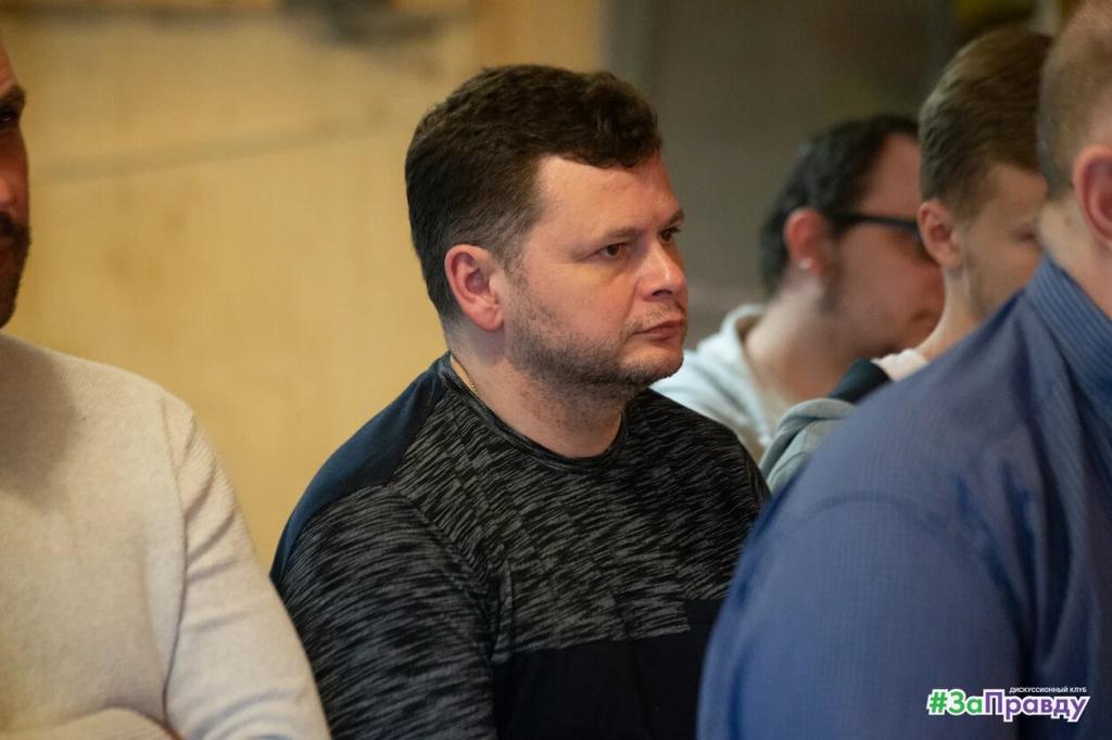 Фотоотчёт о заседании Дискуссионного клуба ЗА ПРАВДУ 9