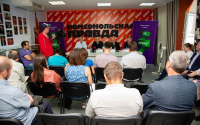 Итоги первого дня визита Захара Прилепина в Новосибирскую область