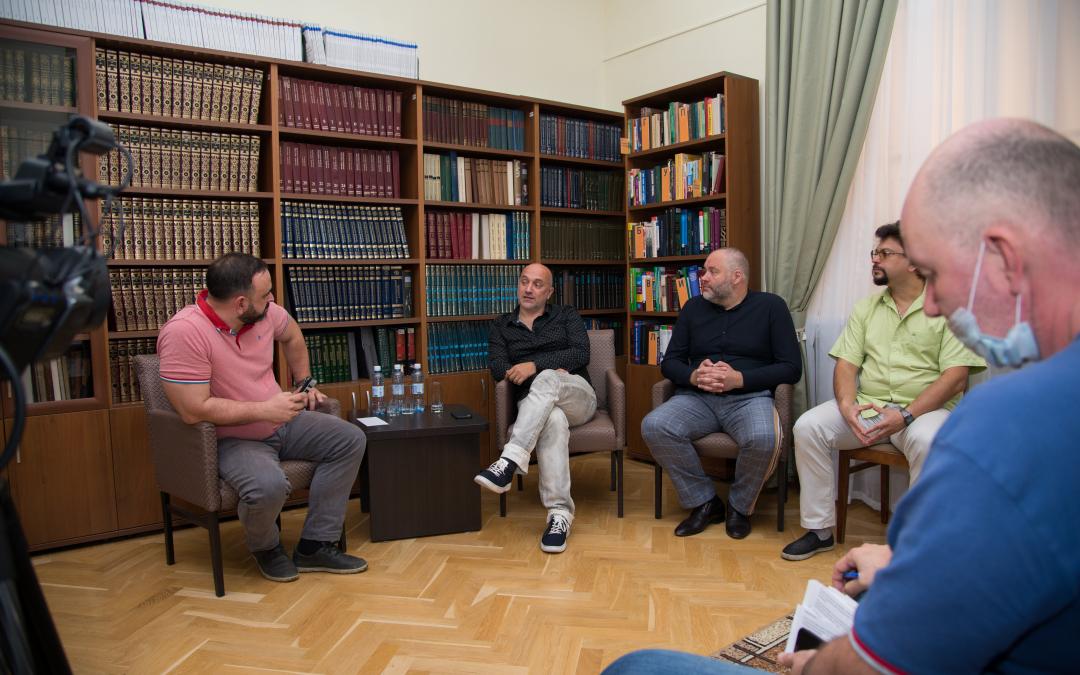 Захар Прилепин, Александр Бабаков, Александр Казаков и Николай Новичков посетили Челябинскую область