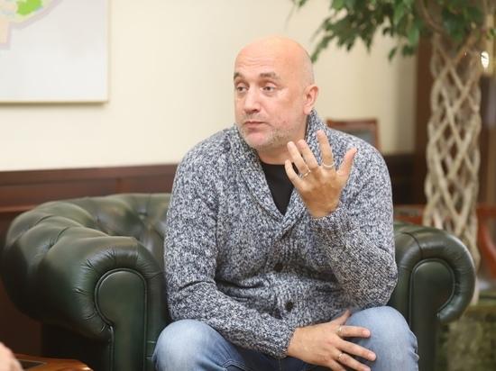 Прилепин будет участвовать в выборах в Рязанскую областную Думу 1
