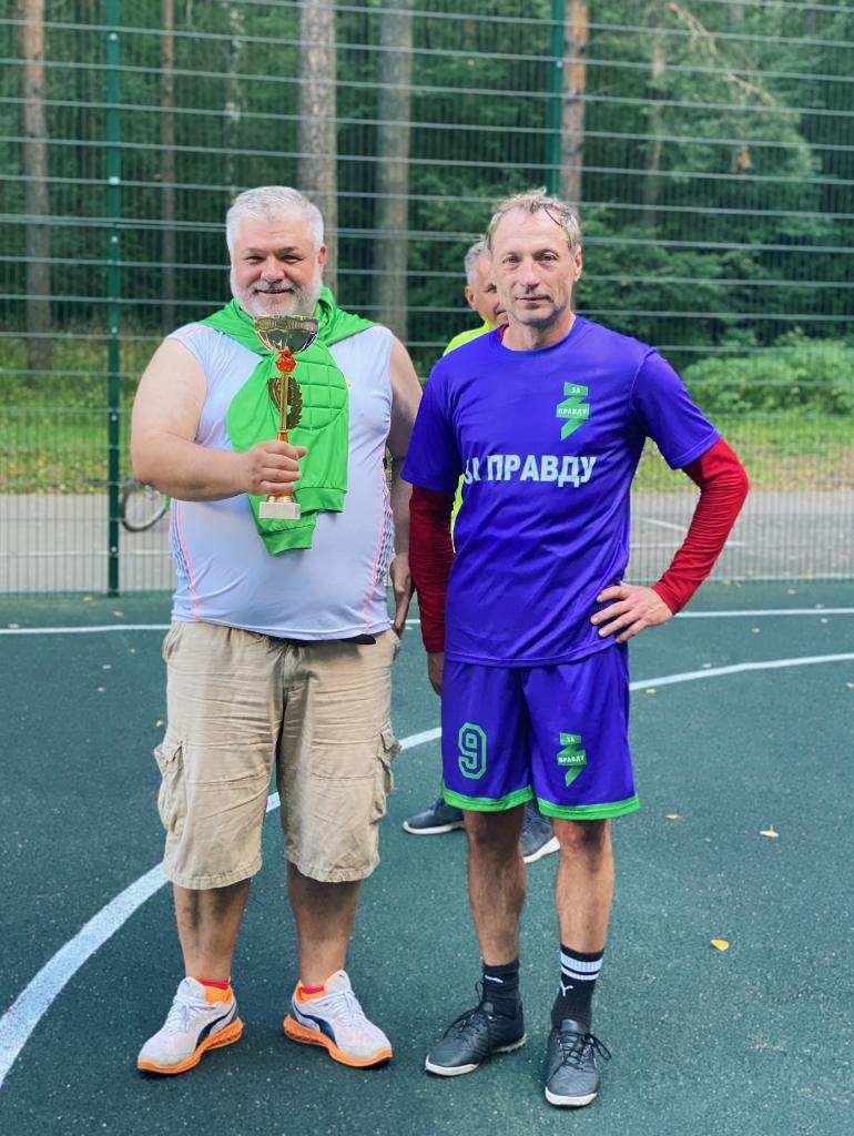 За честный футбол: команда «ЗА ПРАВДУ» приняла участие в футбольном турнире в Костроме 12