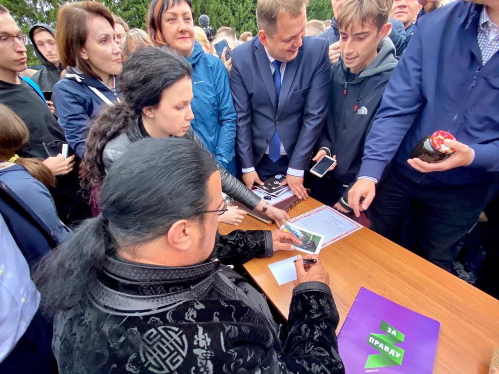 Стивен Сигал принял участие в губернаторских играх в Костромской области 1