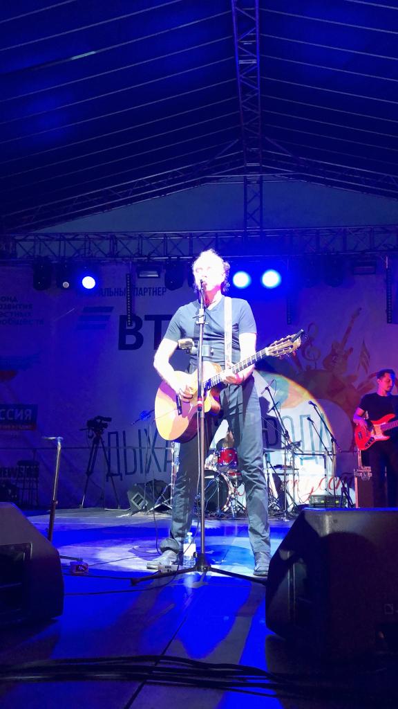 Джанго выступил на фестивале «Дыхание города» в Костроме 4