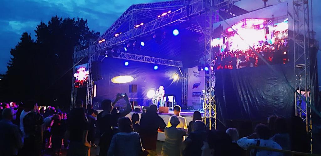 Джанго выступил на фестивале «Дыхание города» в Костроме 2
