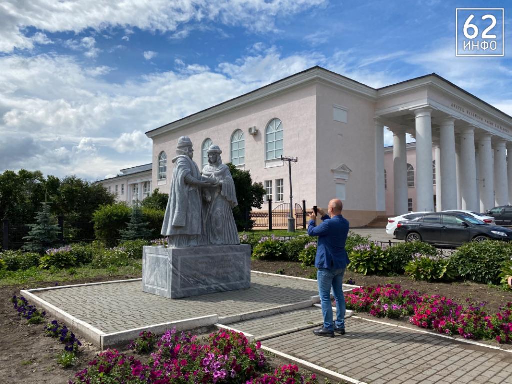 Захар Прилепин посетил свою малую Родину — Скопин 7