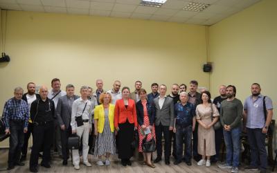Активисты Движения ЗА ПРАВДУ провели встречу в Санкт-Петербурге