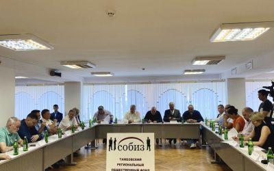 Захар Прилепин принял участие в круглом столе «Тамбов – душа России»