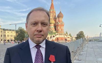 Поздравляем Олега Матвейчева с государственной наградой