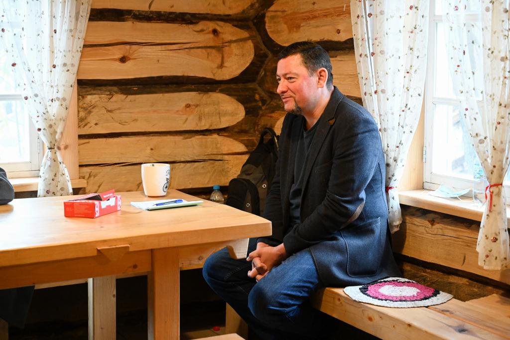 В рамках работы «Мастерской Захара Прилепина» на Хуторе прошла литературная встреча 9