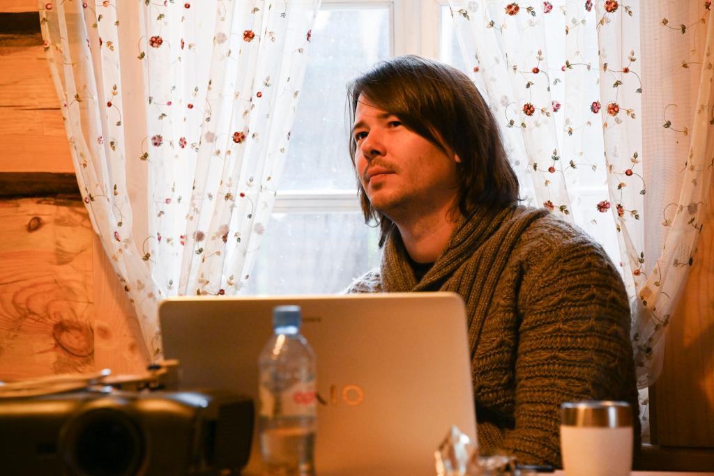 В рамках работы «Мастерской Захара Прилепина» на Хуторе прошла литературная встреча 10