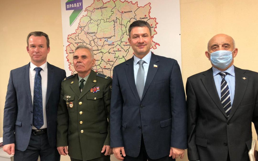 Партия ЗА ПРАВДУ добилась справедливости в отношении ветеранов Рязанской области