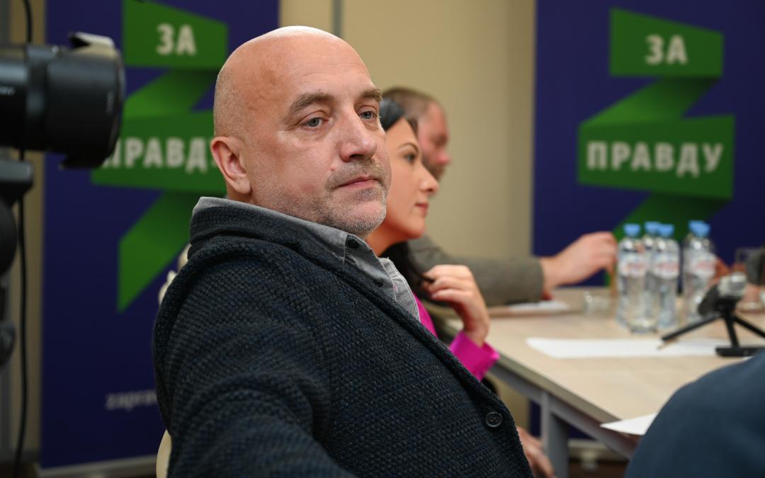 Захар Прилепин за культурную и просветительскую внешнюю политику, но не забывает про русский штык