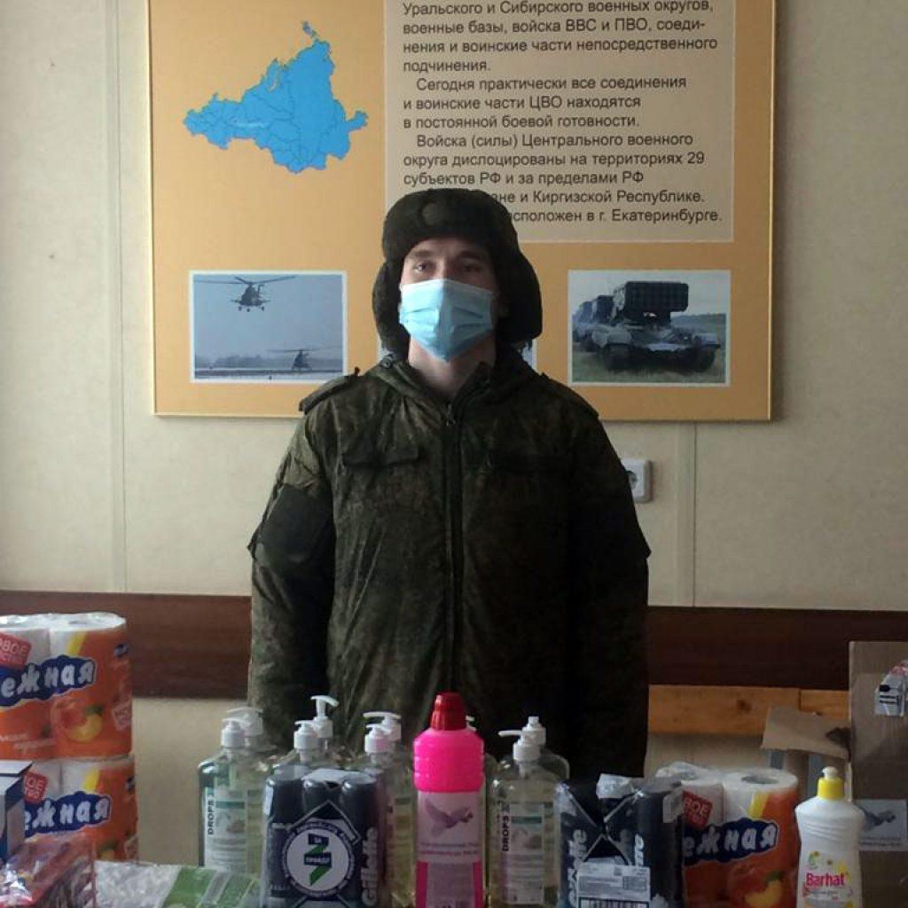 Активисты ЗА ПРАВДУ Екатеринбурга поздравили военнослужащих с профессиональным праздником 2