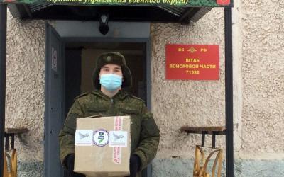 Активисты ЗА ПРАВДУ Екатеринбурга поздравили военнослужащих с профессиональным праздником