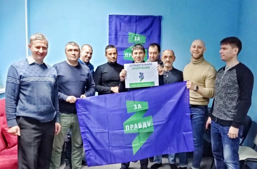 В Воронеже прошло собрание Гвардии Захара Прилепина 17