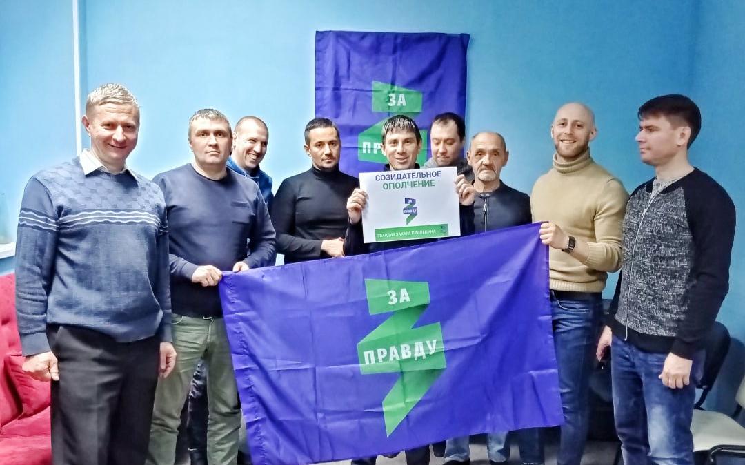 В Воронеже прошло собрание Гвардии Захара Прилепина