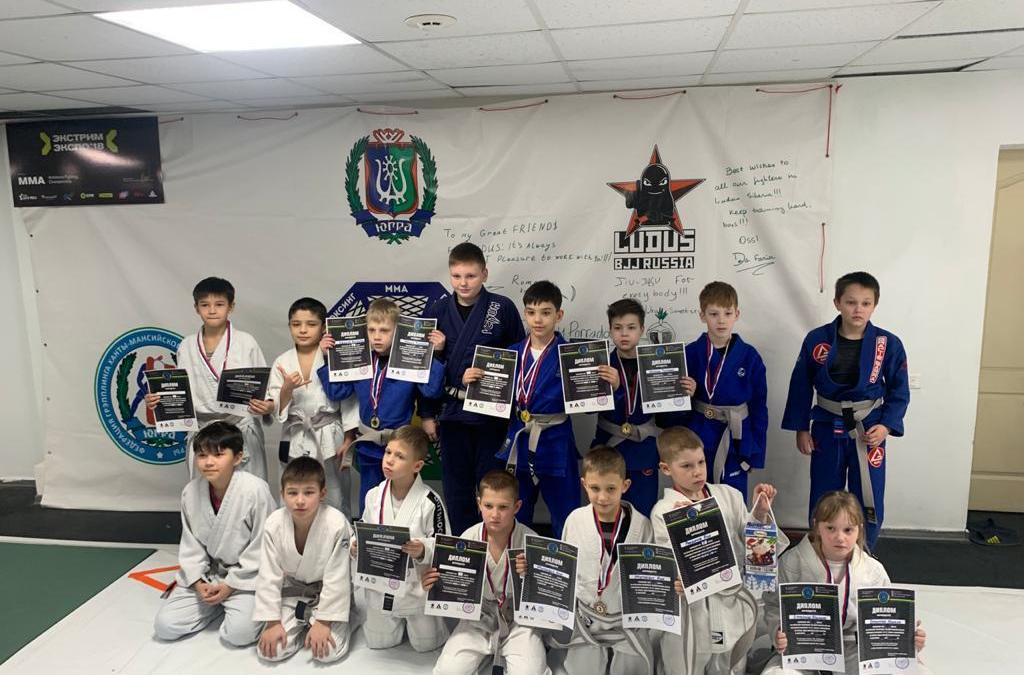 Мастер-класс для маленьких чемпионов в Югре