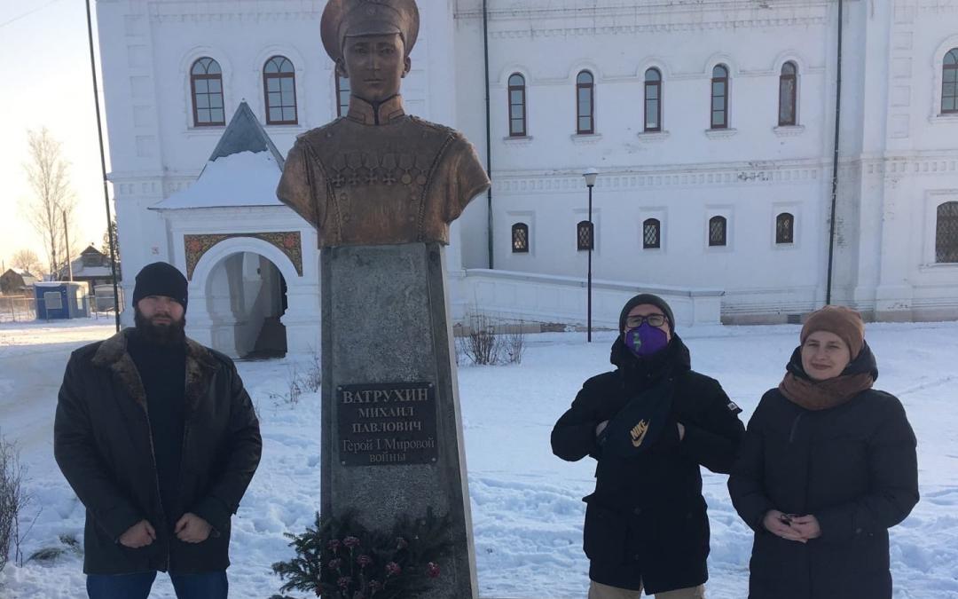 ЗА ПРАВДУ в Нижнем Новгороде поддержало установку памятника в селе