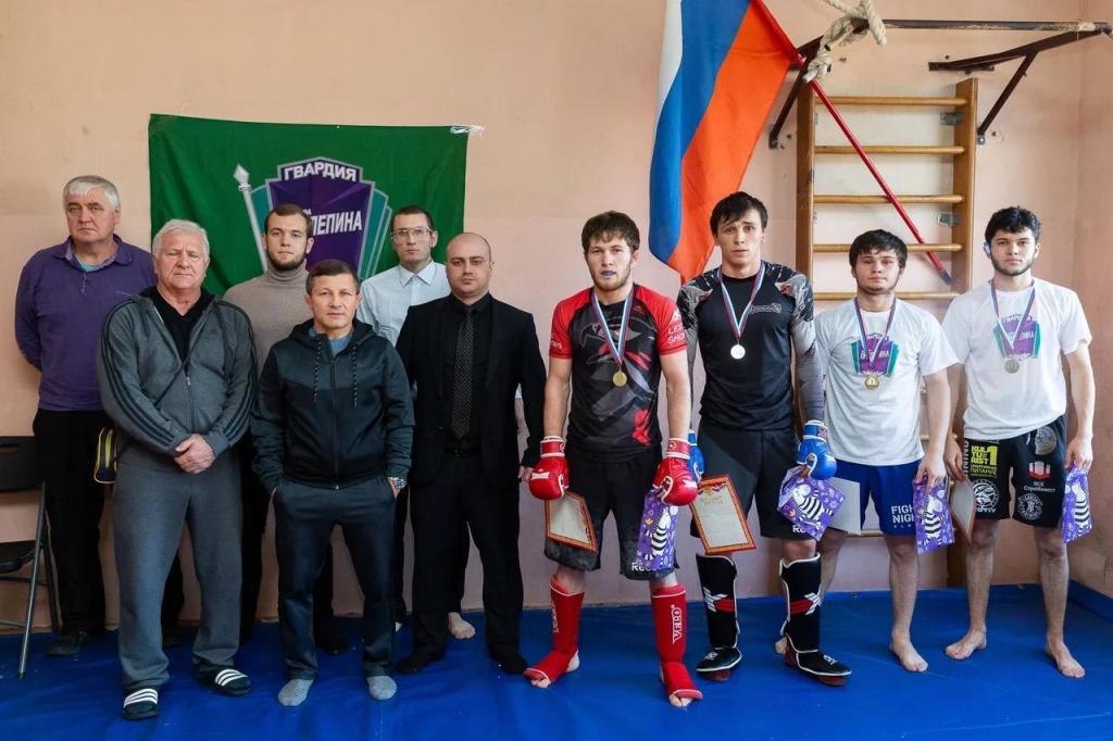 Гвардия Захара Пилепина в Сочи провела второй мастер-класс по греко-римской борьбе 1