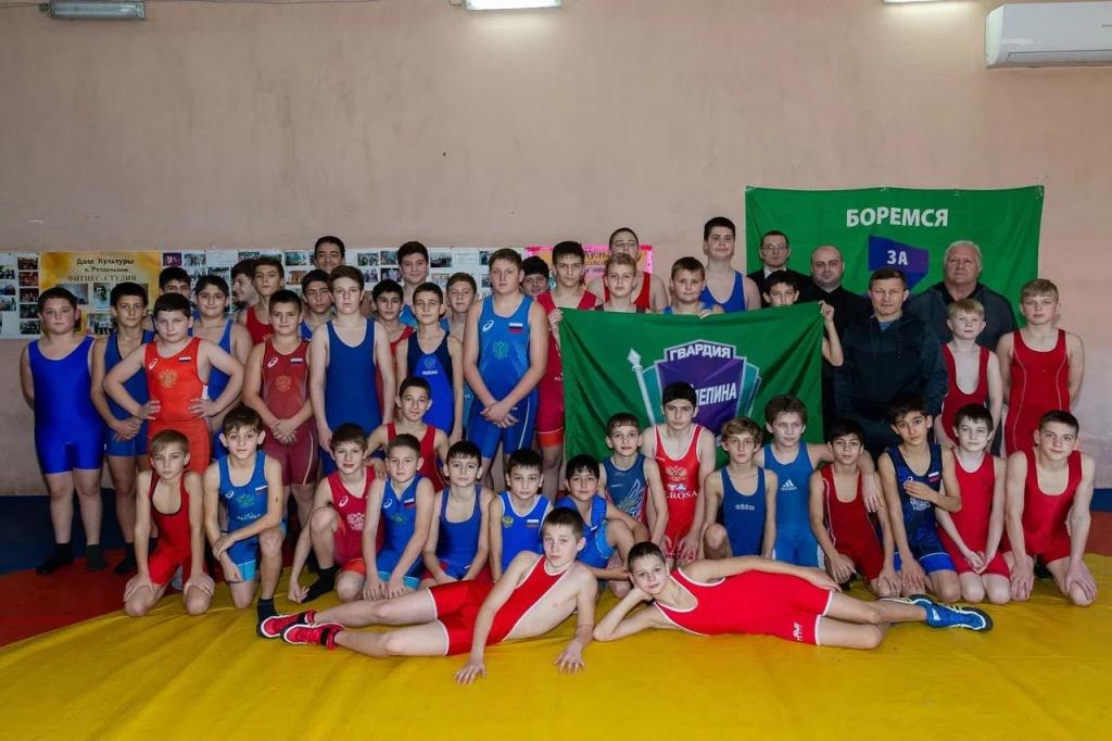 Гвардия Захара Пилепина в Сочи провела второй мастер-класс по греко-римской борьбе 2