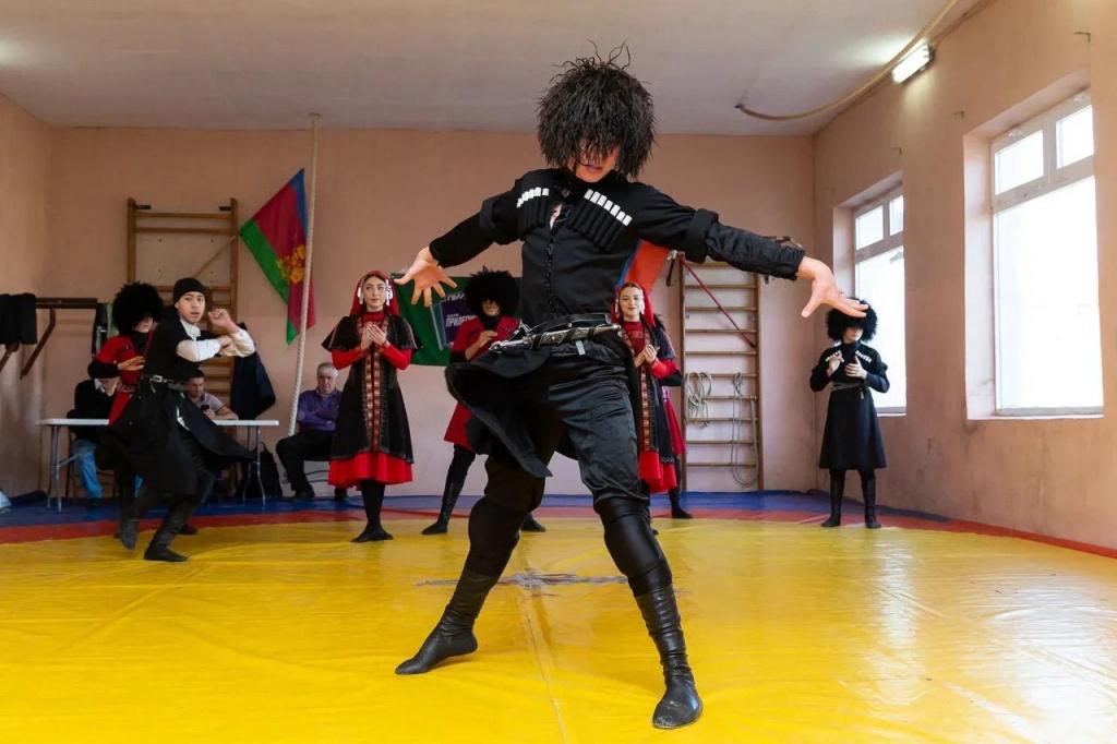 Гвардия Захара Пилепина в Сочи провела второй мастер-класс по греко-римской борьбе 5