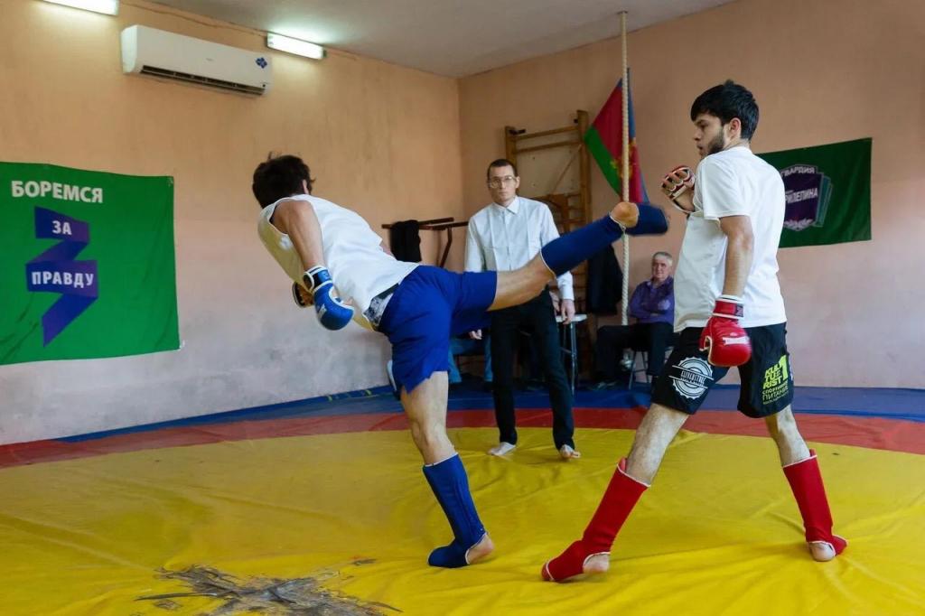 Гвардия Захара Пилепина в Сочи провела второй мастер-класс по греко-римской борьбе 3