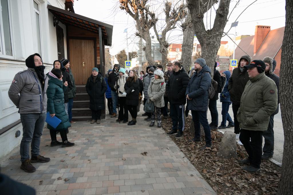 Захар Прилепин открыл градозащитную мастерскую в Рязани 8