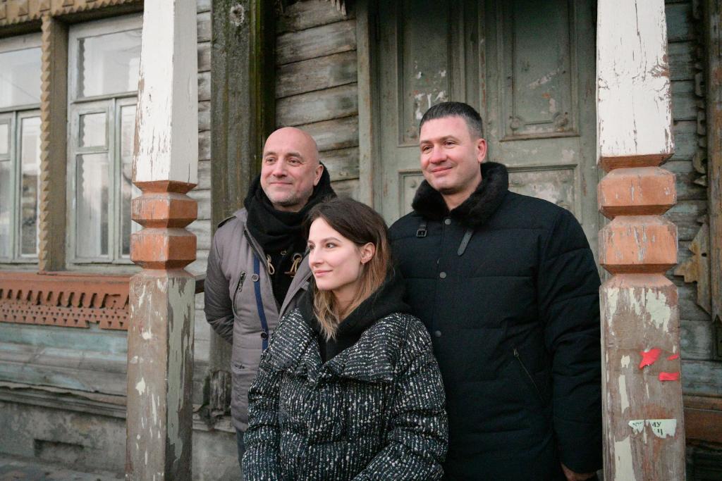 Захар Прилепин открыл градозащитную мастерскую в Рязани 9