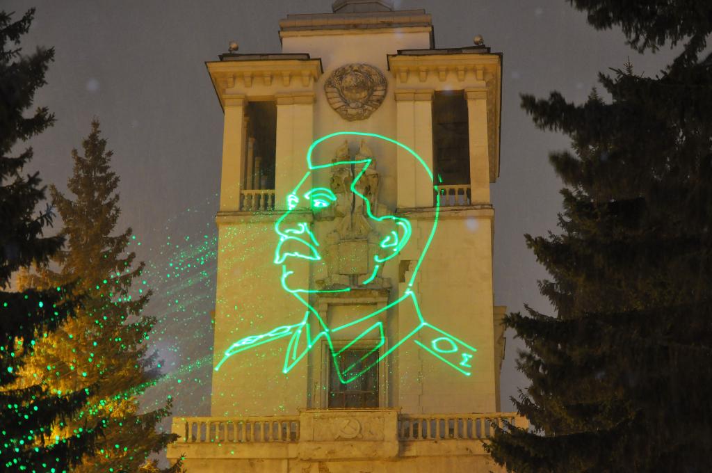 Новые результаты кампании ЗА ПРАВДУ по восстановлению барельефа Сталина с Дома офицеров в Екатеринбурге 5