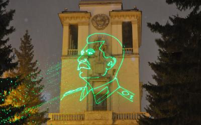 Барельеф Сталина в Екатеринбурге найден