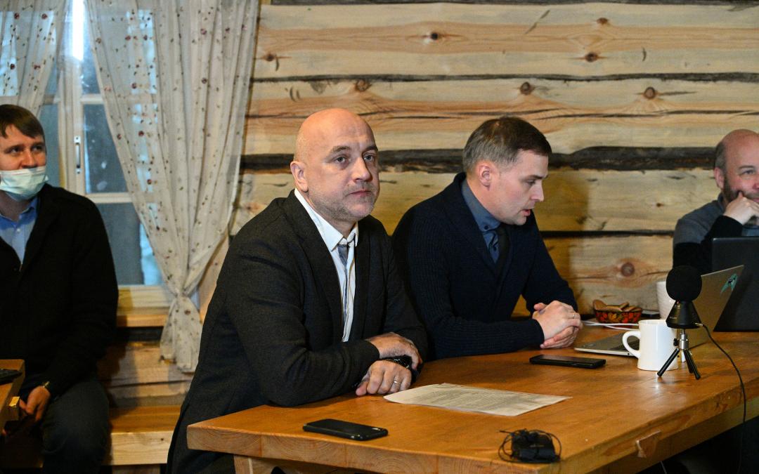 2 декабря на хуторе Захара Прилепина прошло «Всероссийское родительское собрание»