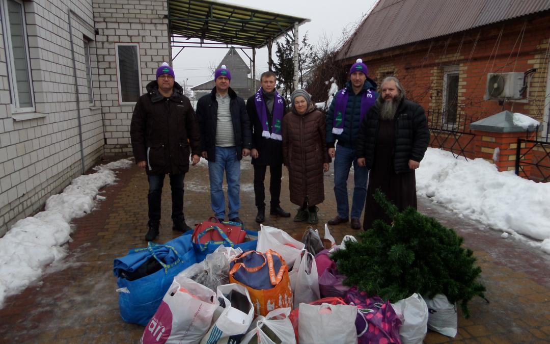 Новогодняя благотворительность в Брянске