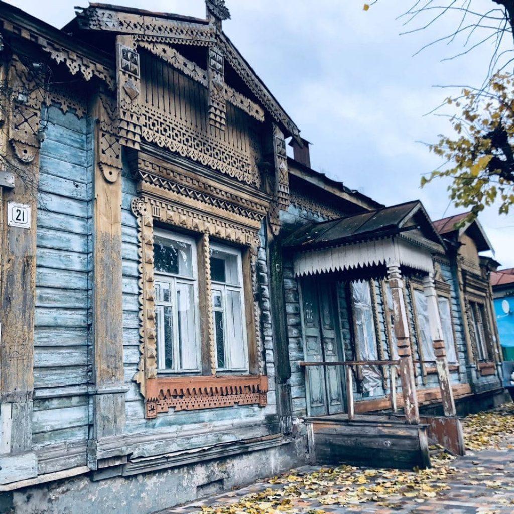 Градозащитный обход улицы Салтыкова-Щедрина в Рязани 12 декабря 17